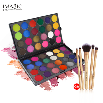 купить IMAGIC  Eyeshadow Pallete Professional 48 Colors Eyeshadow Matte Shimmer Glitter  Cosmetics Smoky  Eye Shadow Makeup Powder в интернет-магазине