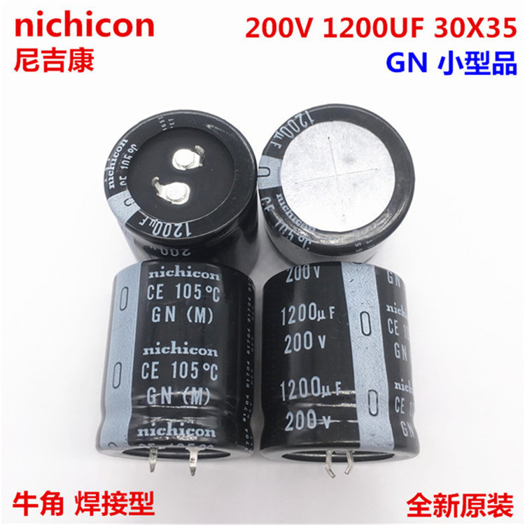 1-10pcs 100% Orginal New 200V1200UF 30X35 1200UF 200V 30x35 GN105 Capacitance