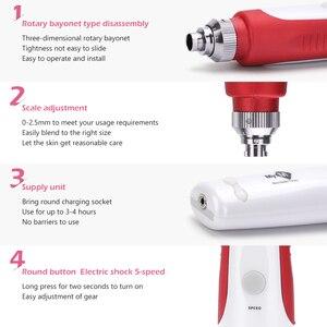 Image 4 - Baionetta Derma penna ago cartuccia aghi esfoliante ridurre i pori dispositivo elettrico Micro rotolamento Dr penna timbro terapia cura della pelle