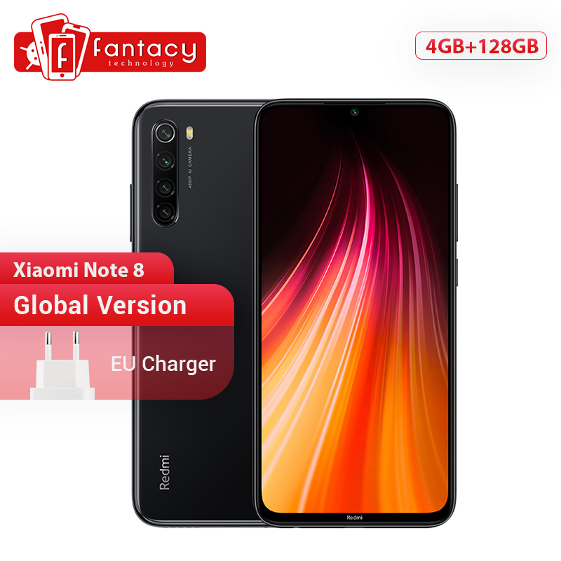 Global Version Redmi Note 8 4GB 128GB 48MP Quad Cameras Smartphone Snapdragon 665 Octa Core 6.3