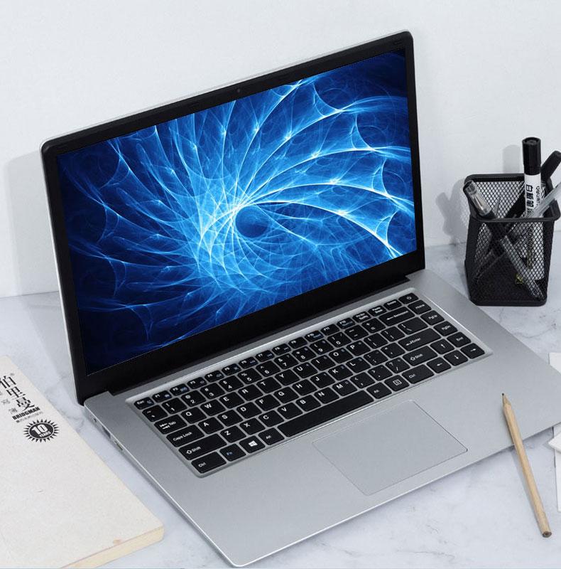 Студенческий ноутбук AK 15,6 дюйма, 4 Гб ОЗУ 64 Гб ПЗУ, Celeron N3050, Windows 10, компьютер с камерой Bluetooth для игрового нетбука