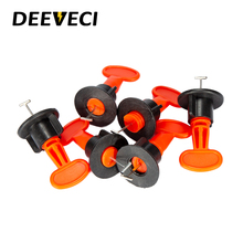 100Pcs Flat Ceramic Floor Wall Construction Tools Reusable Tile Leveling System Kittile Leveling System for tile