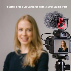 Image 2 - LATZZ LZ A2 מקצועי קיבול מיקרופון וידאו הקלטת הקבל מיקרופון 3.5mm עבור SLR מצלמות מצלמות וידאו Smartphone