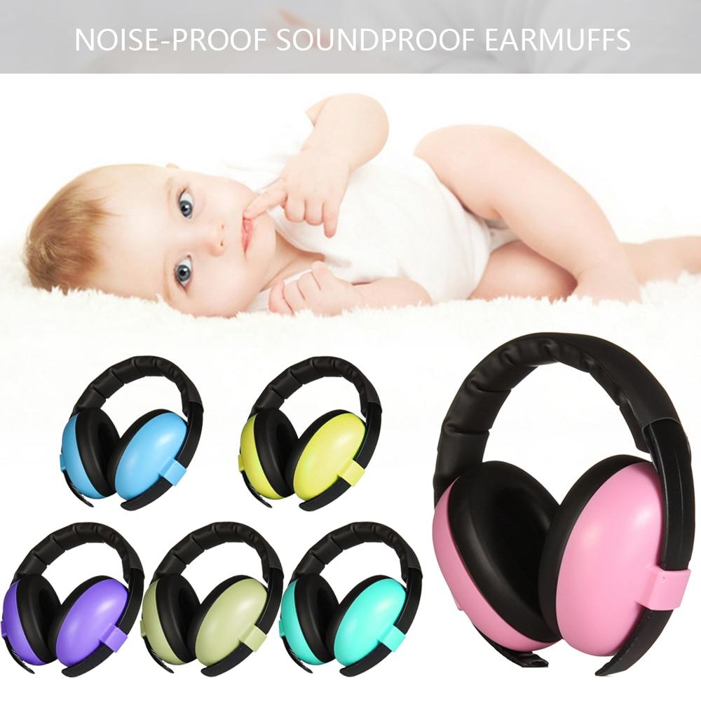 2Pcs BABY Safer Ear Defenders Earmuffs Hearing Protection Chidren Boys Girls