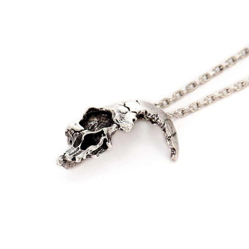 Siliver Skull Necklace (2)