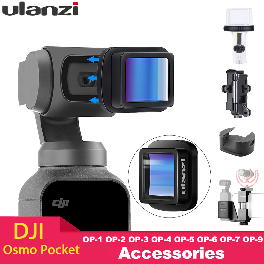 Ulanzi Lens Pocket-Accessories Osmo Anamorphic OP-1 Magnetic 4K for DJI Wide-Angle-Lens