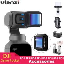 Ulanzi Magnétique 4K HD Grand Angle Lentille 1.33X Lentille Anamorphique pour DJI Osmo Poche Osmo Accessoires de Poche OP 1 OP 5 OP 11