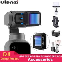 Ulanzi Magnetic 4K HD Besar Lensa Wide-Angle 1.33X Anamorphic untuk DJI Osmo Saku osmo Saku Aksesoris OP-1 OP-5 OP-11