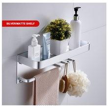 Полка для ванной настенный держатель душа стойка вешалка полотенец