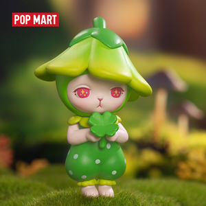 POPMART Bunny Forest series Toys figure Blind box birthday gift animal toys figures Free shipping(China)