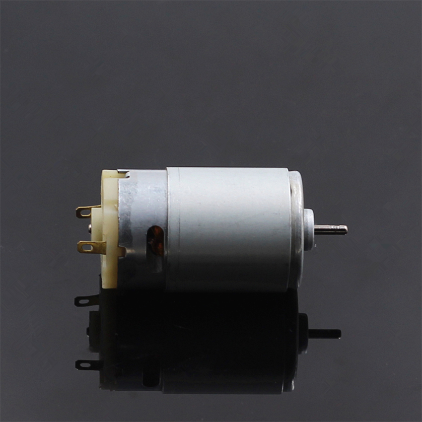 Large Torque Micro 390 Motor DC Small Motor with Anti-magnetic Ring High Efficiency 12V 5000rpm D-Shaft Diameter 2.3 mm Pakistan