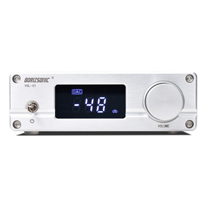 Image 4 - New VOL 01 HIFI NJW1194 Bluetooth 5.0 aptx Receive Remote Preamplifier 5 way Audio Pre amp With LED display Free Shipping