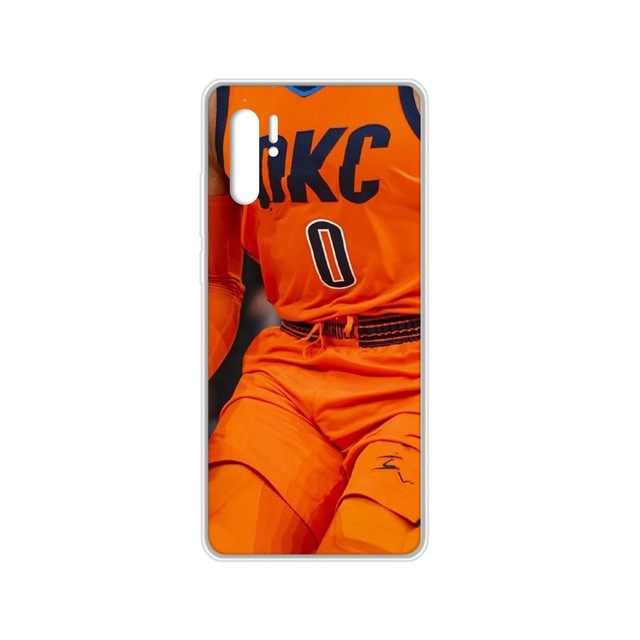 Russell Westbrook basket MVP coque téléphone transparente pour HUAWEI nove 5t p 8 9 10 p20 P30 p40 P pro Smart 2017 2019 Z lite