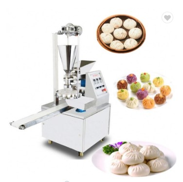 Promotion! 500-1000pcs/h Commercial Automatic Steamed Bun Machine Steamed Stuffed Bun Making Machine Momo Making Machine