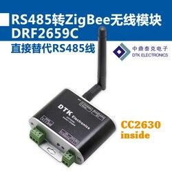 RS485 to ZigBee Wireless Module (1.6km Transmission, CC2630 Chip, Super) DRF2659C