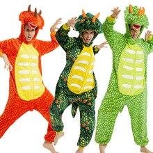 Kigurumi Cosplay Unicorn Pajama Adult Animal Onesies For Women Men Winter Dragon Pajamas Kugurumi Sleepwear Flannel Pijamas pink unicorn cartoon animal onesies pajamas costume cosplay pyjamas adult onesies party dress halloween pijamas