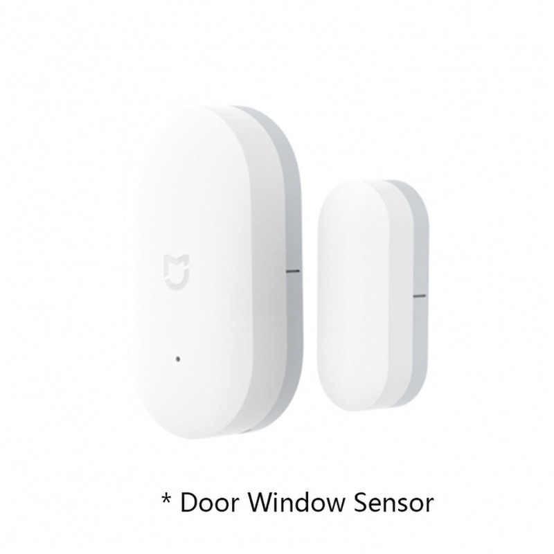 Gorący oryginalny Xiaomi Mijia inteligentny zestawy do domu bramka wersja 2 drzwi okna czujnika ludzkiego ciała czujnik bezprzewodowy przełącznik wilgotności gniazdo Zigbee