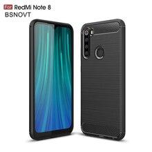 """Per Xiaomi Redmi Nota 8 Caso Molle Del Silicone Paraurti resistente Allo Sporco Per Il Caso di Xiaomi Redmi Nota 8 Caso Per redmi Note 8 6.3 """"BSNOVT"""