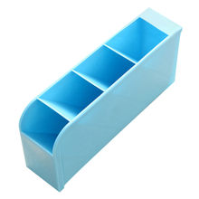Plastic Storage Box Home Tie Underware Socks Drawer Cosmetic Divider Jewelry Tidy Office School Pen Stationery Organizer Case(China)