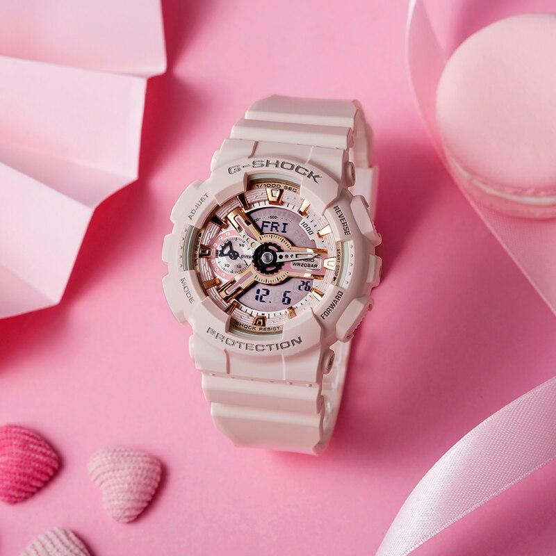 Casio montres à la mode décontracté dames montres GMA S110MP 4A1 - 2