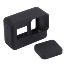 PULUZ Camera Soft Silicone Protective Case with Lens Cap Cover for Gopro Hero 5 Black Camera for GoPro Action Camera Accessories puluz camera soft silicone protective case with lens cap cover for gopro hero 5 black camera for gopro action camera accessories