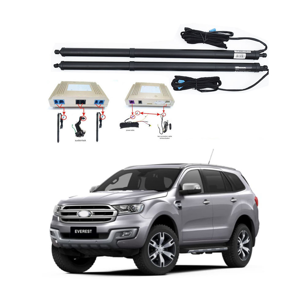 New Electric Tailgate Refitted For FORD EVEREST 2016 -Tail Box Intelligent Electric Tail Door Power Tailgate Lift Lock