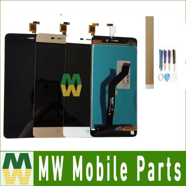 1 teil/los Für ZTE Klinge X3 D2 T620 A452 LCD Display LCD Sreen + Touch Screen Touch Digitizer Montage 3 farbe