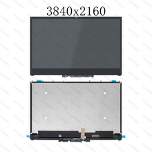 4K UHD 3840X2160 FHD 1920X1080 IPS LCD LED Touch Screen Digitizer Assembly +Bezel For Lenovo Yoga 720-15IKB 80X7 81AG 80VR lenovo yoga 920 13ikb 4k assembly lp139ud1spc1 lcd touch screen assembly