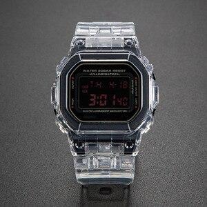 Image 2 - Transparent Watch Set DW5600 GW M5610 Watchband Bezel Bracelet With Metal Clasp