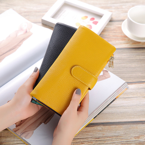 XDBOLO New Design Wallet Women Leather Phone Pocket Wallets Woman Genuine Leather Women's Purses Card Holder Clutch Wallet(China)