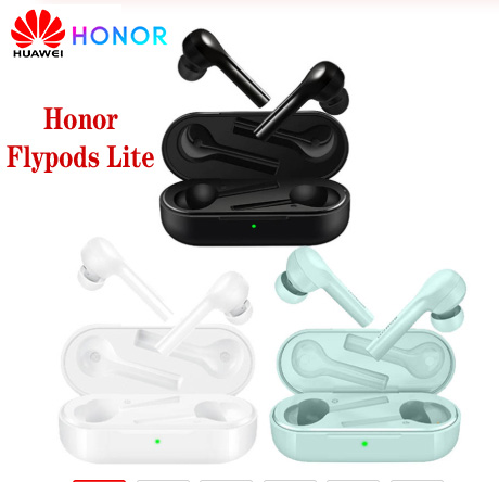 Original Huawei Honor Flypods Lite Wireless Hi-Fi Bluetooth Earphone TWS Headphone WaterproofIP54 Tap control Headphones