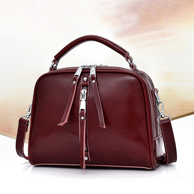 Luxury Cross body Bag For Women 2020 Genuine Leather Shoulder Messenger Bags Business High Quality Totes Handbags Clutch Pouch
