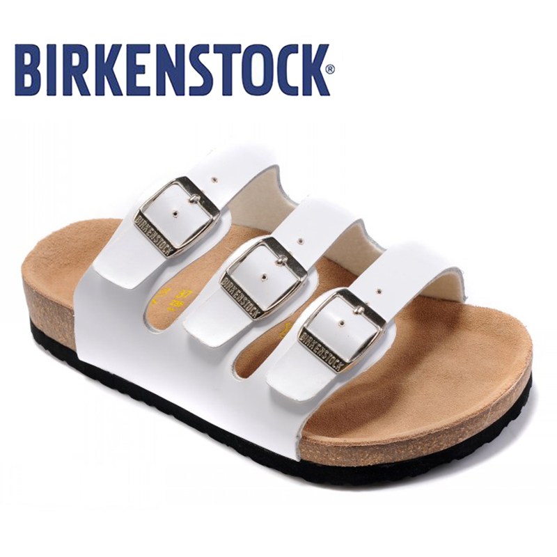 2019 New Arrival BIRKENSTOCK Florida BF DD Damen Pantolette Mit Fussbett FASHION Women Unisex Shoes Free Shipping 813 Size:36-46