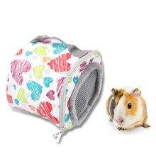Sac de transport d'animaux de compagnie en plein air, pour Chinchilla, Hamster, hérisson, petit Animal, mignon en peluche, Cage à Rat, sac suspendu