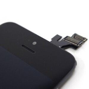 Image 5 - PINZHENG AAAA orijinal LCD iPhone 5 5S 5C SE ekran dokunmatik ekran Digitizer değiştirin iPhone 5 5S 5C SE yedek ekran