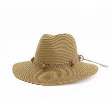 Шляпка от солнца с широкими полями женская элегантная однотонная