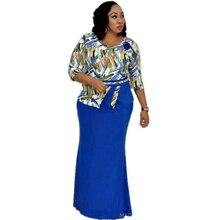 アフリカ女性のための2019アフリカ服イスラム教徒ロングドレス高品質の長さファッションアフリカのドレス女性のための