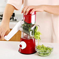 veget cutter slicer Manual Kitchen Accessories Vegetable Chopper 3 in 1 Round Grater Cutter Potato Spiralizer Home Gadget Tool