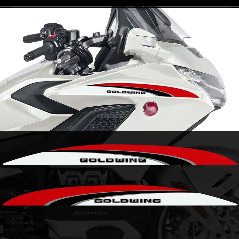 2018 для HONDA Goldwing GL1800 GL 1800 танка-подушка туристическая Наклейка Набор наклеек багажник Чехлы задние боковые панели 2019 2020