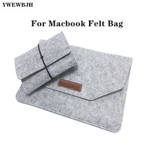 laptop Bag Soft Bussiness Wood Felt Sleeve Bag Case For  Macbook Air Pro Retina 11 12 13 15 Laptop for Mac book 11 13 15  inch free shipping 11 12 13 14 15 15 6 inch laptop sleeve computer case for macbook air pro retina ultrabook tablet protable soft bag