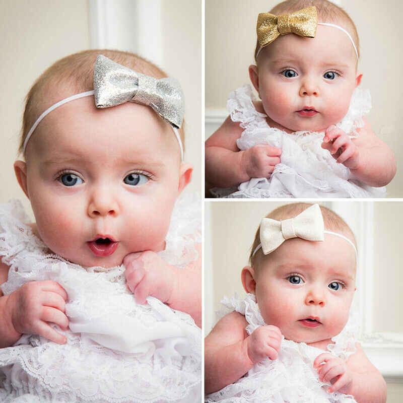 เด็กอุปกรณ์เสริมเด็กทารกเด็กทารกน่ารัก Bow Headband ทารกแรกเกิด Headwear ผมวง Headdress ใหญ่ Bowknot ขายส่ง