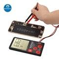 Цифровой мультиметр ADMS9 с автоматическим ЖК-дисплеем  3-линейный ЖК-дисплей 3 5 дюйма  вольтметр  переменный ток  напряжение NCV  тестер сопроти...
