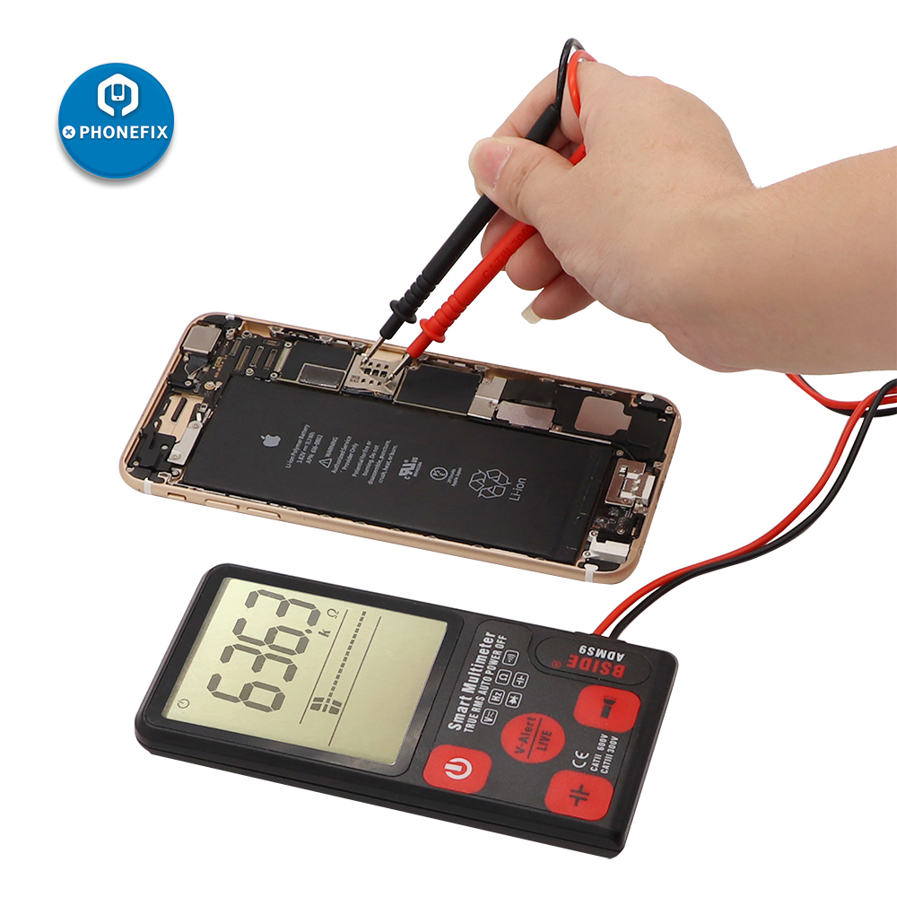 ADMS9 Automatic LCD Display Digital Multimeter 3.5