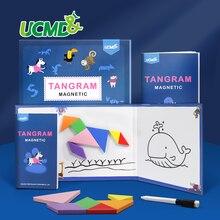 Магнитный из ЭВА (этиленвинилацетат) 3d головоломки tangram