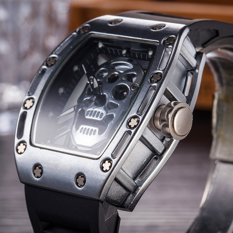 Top Brand RM 1: 1 Same Men's Skeleton Watch DZ Watches Richard Automatic Wristwatches Luxury Gift Waterproof Relogio Masculino