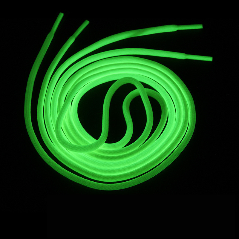 2pc 120cm Light Sport Shoelace Luminous Toys Canvas Shoes Accessories Glow In The Dark Toys Gift For Children Roller Skates