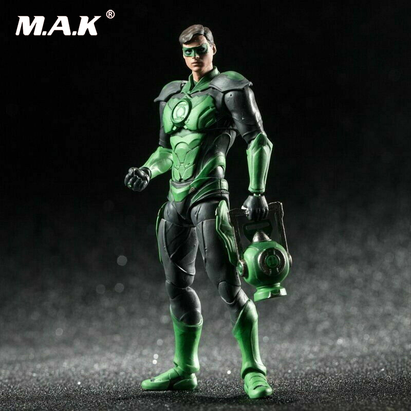HIYAToys LD0040 INJUSTICE 2 <font><b>1</b></font>/<font><b>18</b></font> Green the Lantern Action <font><b>Figure</b></font> Gift Collectible for boys children collection image