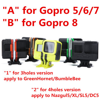 IFlight GreenHornet/BumbleBee Nazgul5 Spare Parts 60 Degree Adjustable Camera Holder Protection Cover for GoPro Hero 5/6/7/8