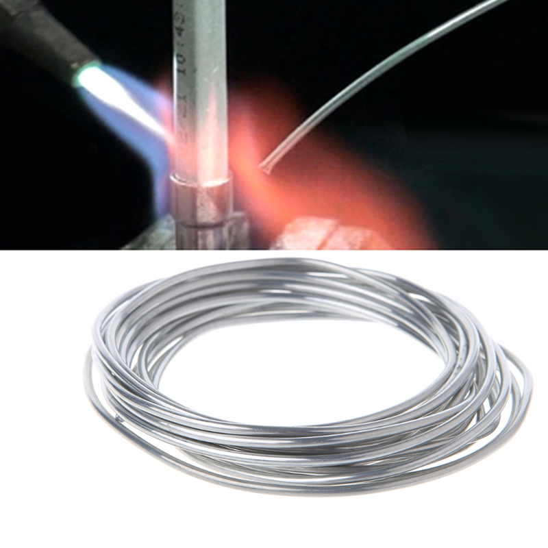 50cm 3m 5m 10m Solder Wire For Welding Wires Condenser Car Air Conditioning Refrigerator Low Temperature Aluminum Electrode