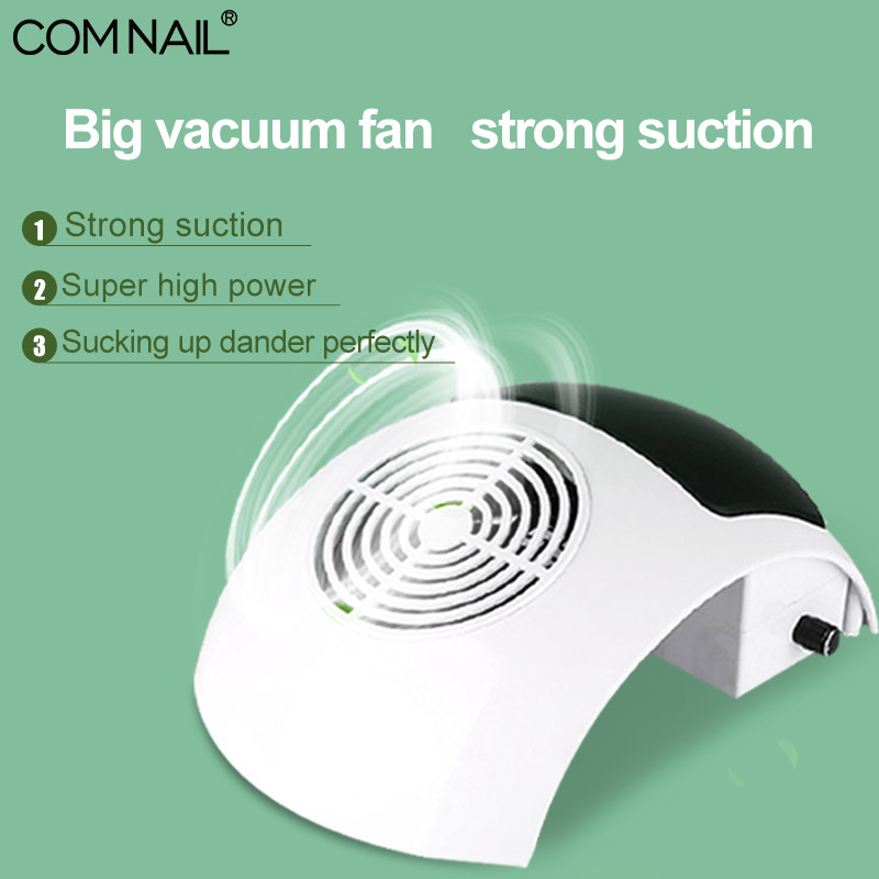 COMNAIL Nail Dust Collector 80W Manicure Suction Nail Dust Collector Suction Machine Vacuum Cleaner For Nail Art